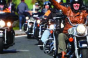 Bikers: Over 50, Monied, and Philanthropists
